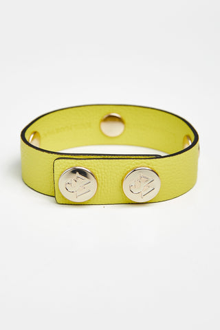 "The Moods Bracelet ""Fresh lemonde"" - Cold fresh yellow."