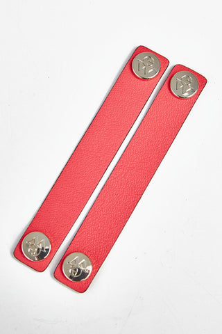 "The Moods Ribbon ""Playful night"" - Light red color, do not take it too seriously."