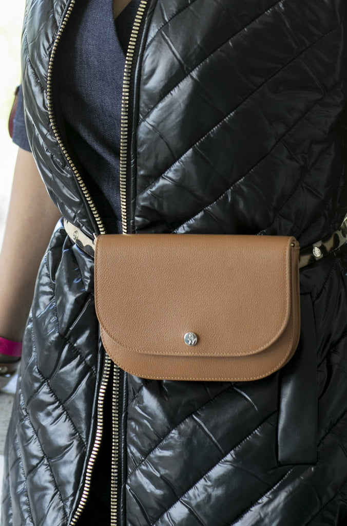 "The Moods Bag ""Minimal chic"" - camel brown - Enemy in the Wardrobe"