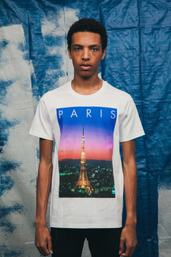 T-shirt Fuckin Tourist Paris