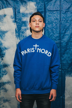 Sweatshirt Paris Nord Bleu