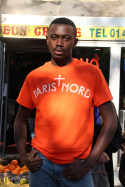 T-shirt Paris Nord Orange