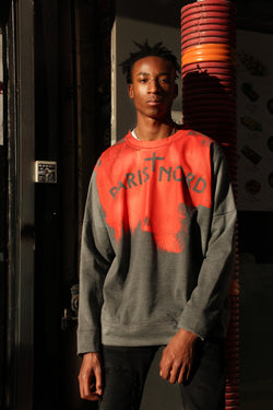 Sweatshirt Rouleau Orange
