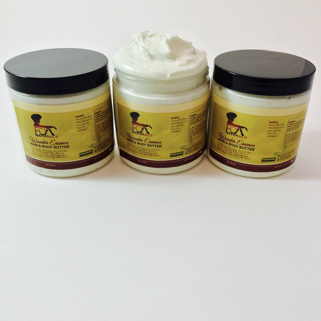 Wonder Essence Hair & Body Butter + Wonder Essence Hair and Body Oil