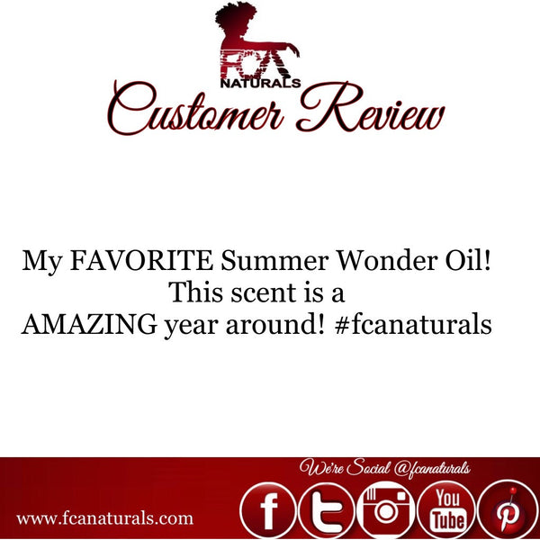 Summer Wonder Oil