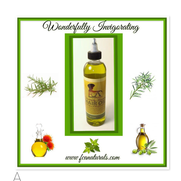 Wonderfully Invigorating Hair Oil