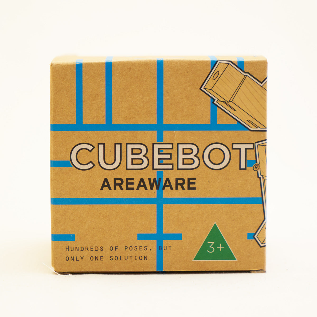 Cubebot Wooden Toy