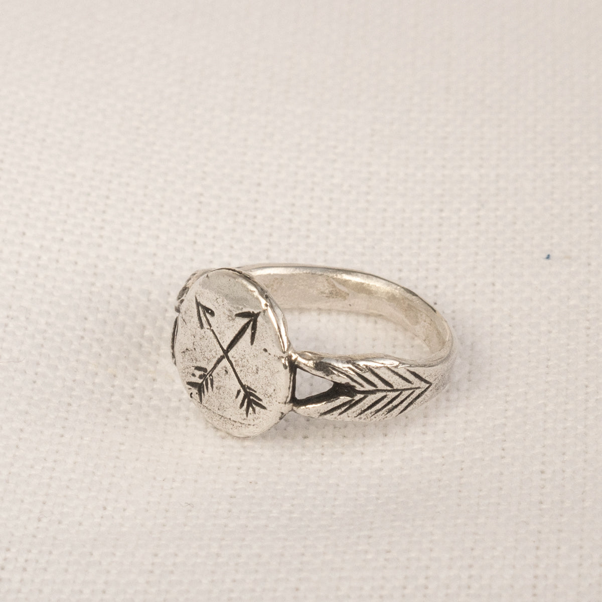 Datter Industries Crossed Arrows Ring