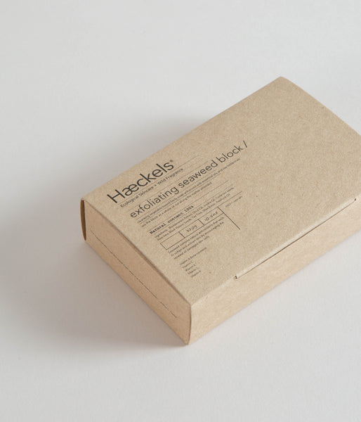 Haeckels - Exfoliating Vegan Seaweed Blocks