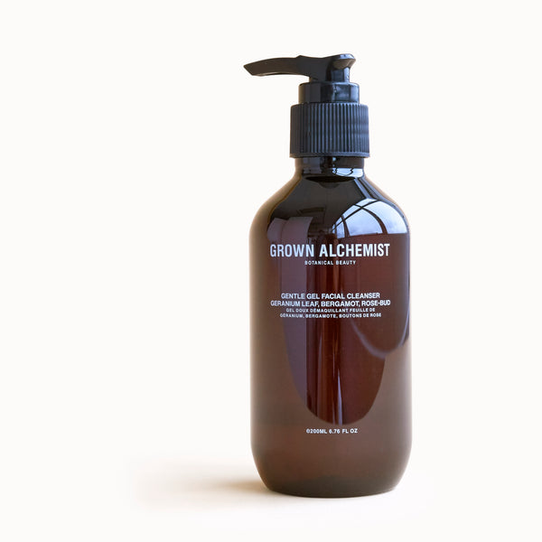 Grown Alchemist - Gentle Gel Facial Cleanser Geranium Leaf, Bergamot, Rose Bud