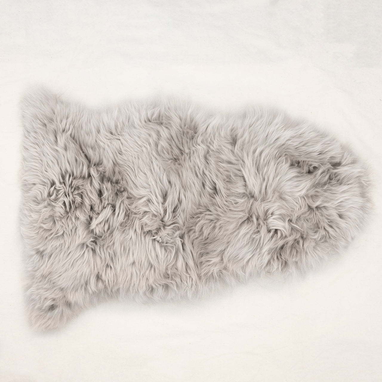 New Zealand Longhair Sheepskin - Pearl