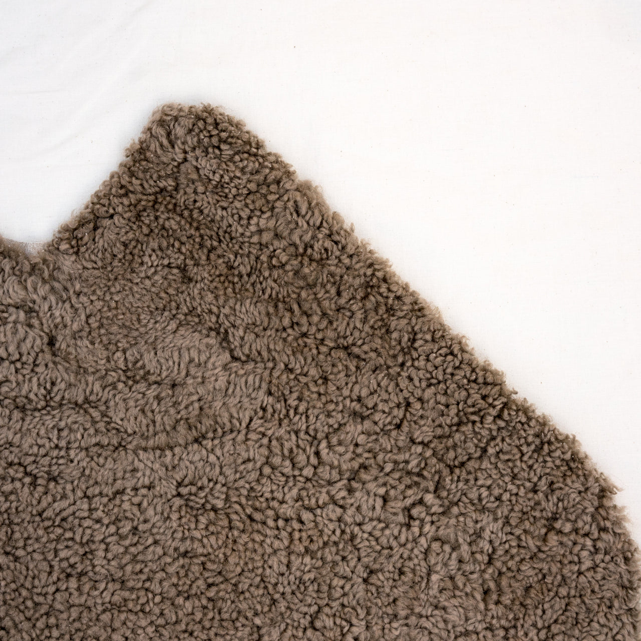 New Zealand Shorthair Curly Sheepskin - Taupe