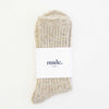 Nude Label Socks - Wool Speckled