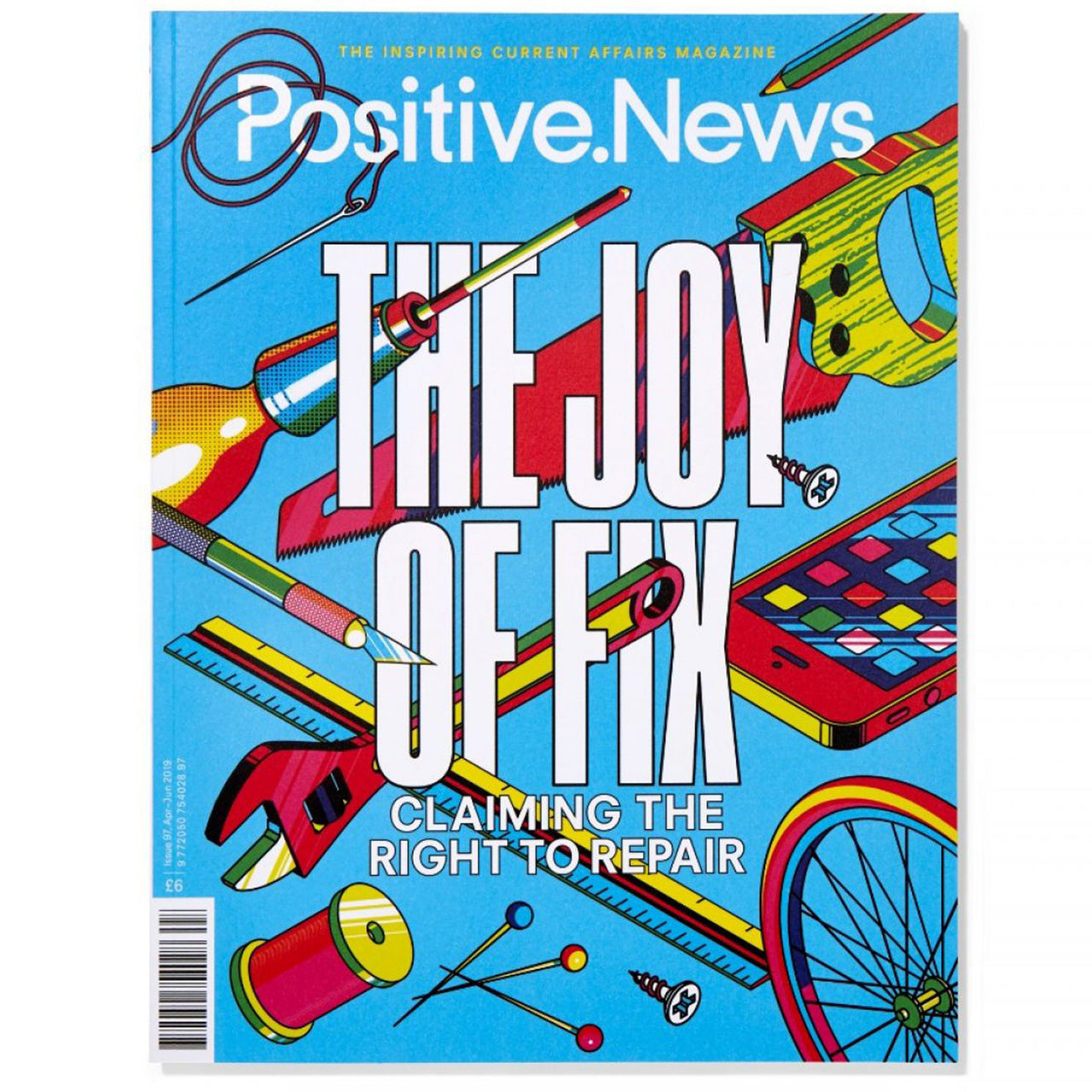 Positive News Magazine- Issue 97