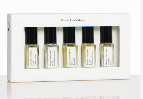 Maison Louis Marie Perfume Oil Discovery Set