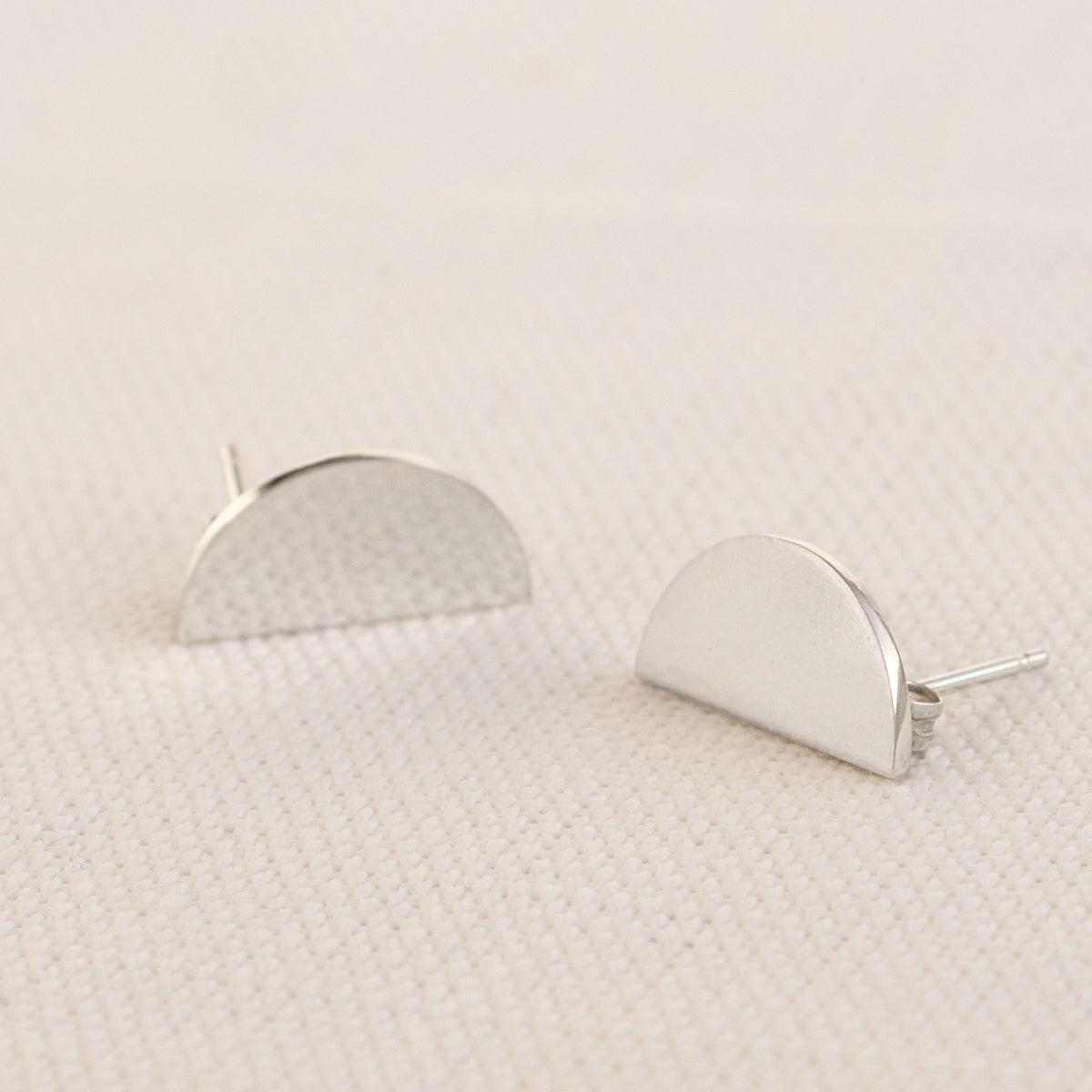 The Boyscouts - Silver Convex Earrings
