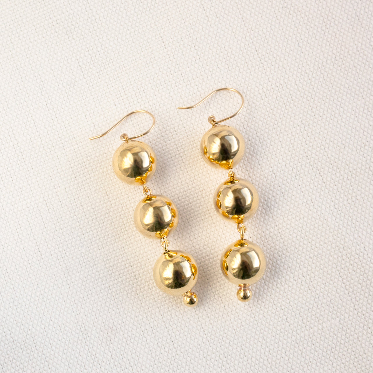 Young Frankk - Bauble Earrings Gold