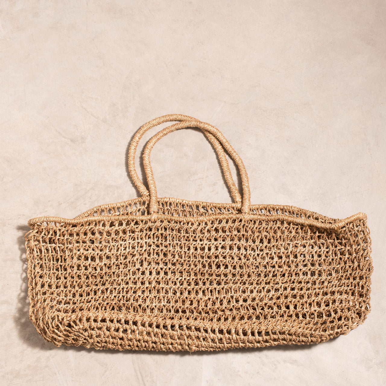 Abaca - Isla Market Tote Natural Bag