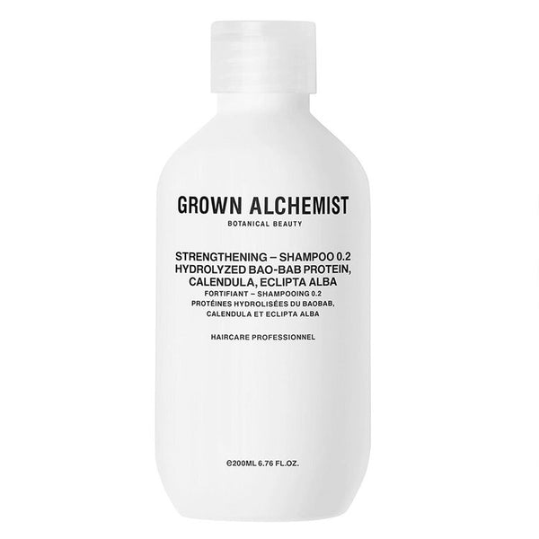 Grown Alchemist - Strengthening Shampoo 0.2 Hydrolyzed Bao-Bab Protein, Calendula, Eclipta Alba