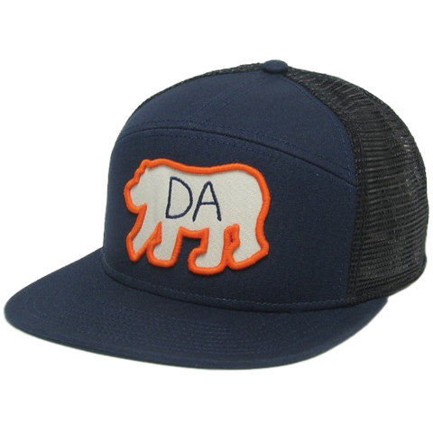 Da Bear® Navy/Black Hopback Trucker