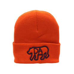 Da Bear® Orange Cuffed Knit Beanie