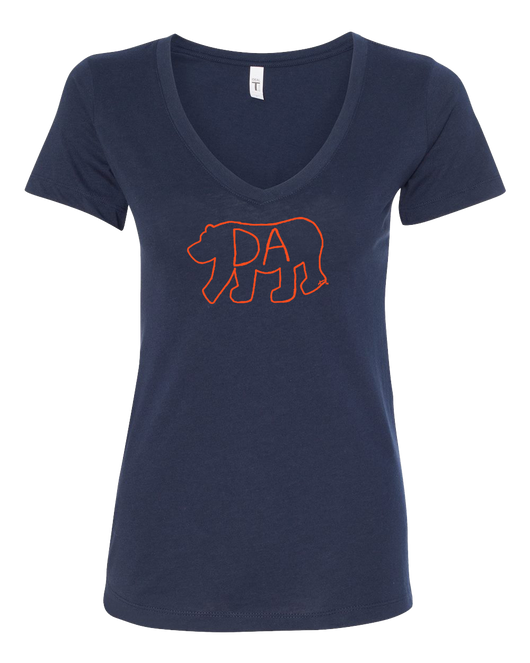 Da Bear® Women's V-Neck