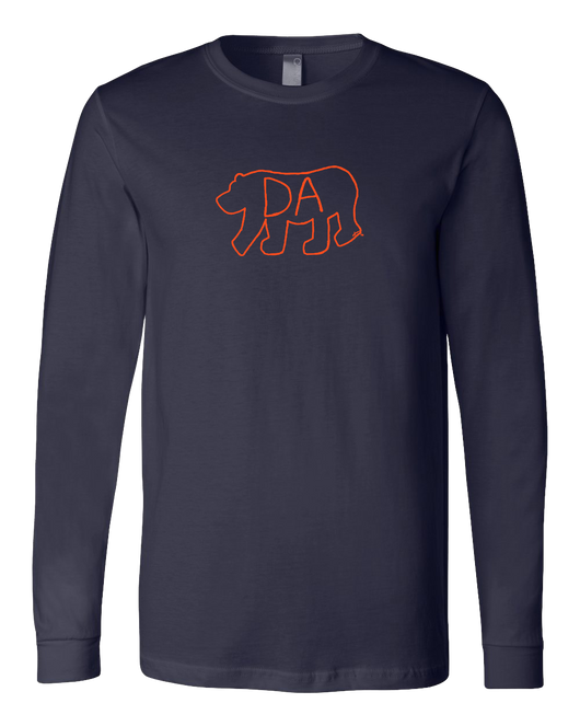 Da Bear® unisex long sleeve tee