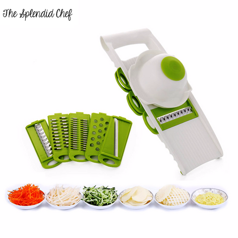Mandoline Slicer - Brand New 2017 Top of the Line Mandline for Easy Slicing and Dicing