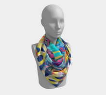 Tropical Night Scarf