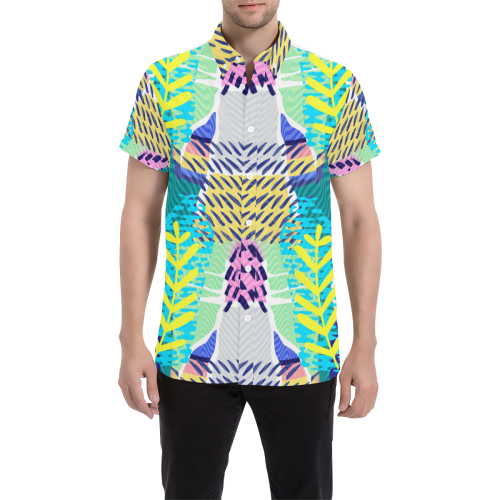 Lush 2019 Men's Printed Button Shirt