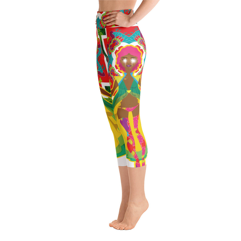 Calypso Yoga Capri Leggings