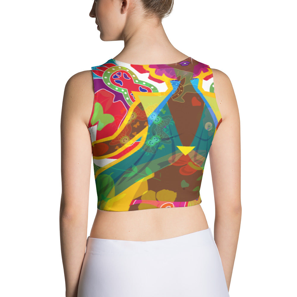Goddess Calypso Crop Top