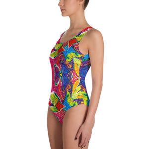 Tribal Ultra one-piece swimsuit