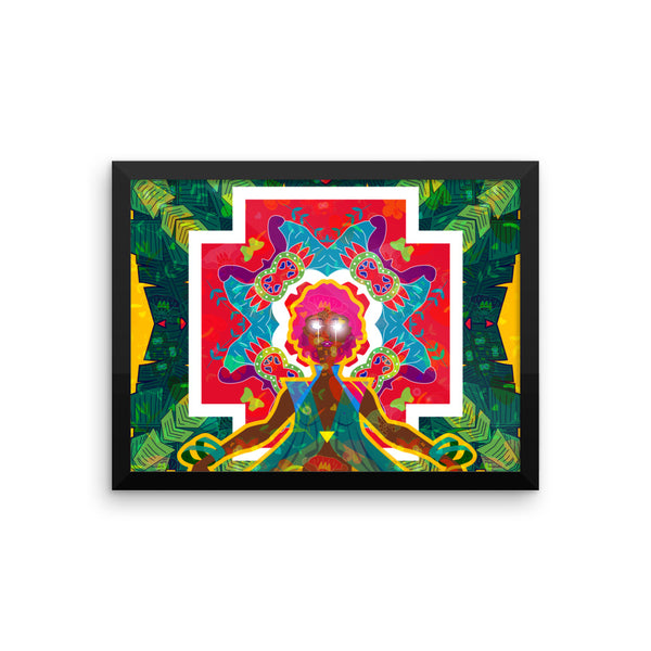 Goddess Calypso Framed photo paper poster