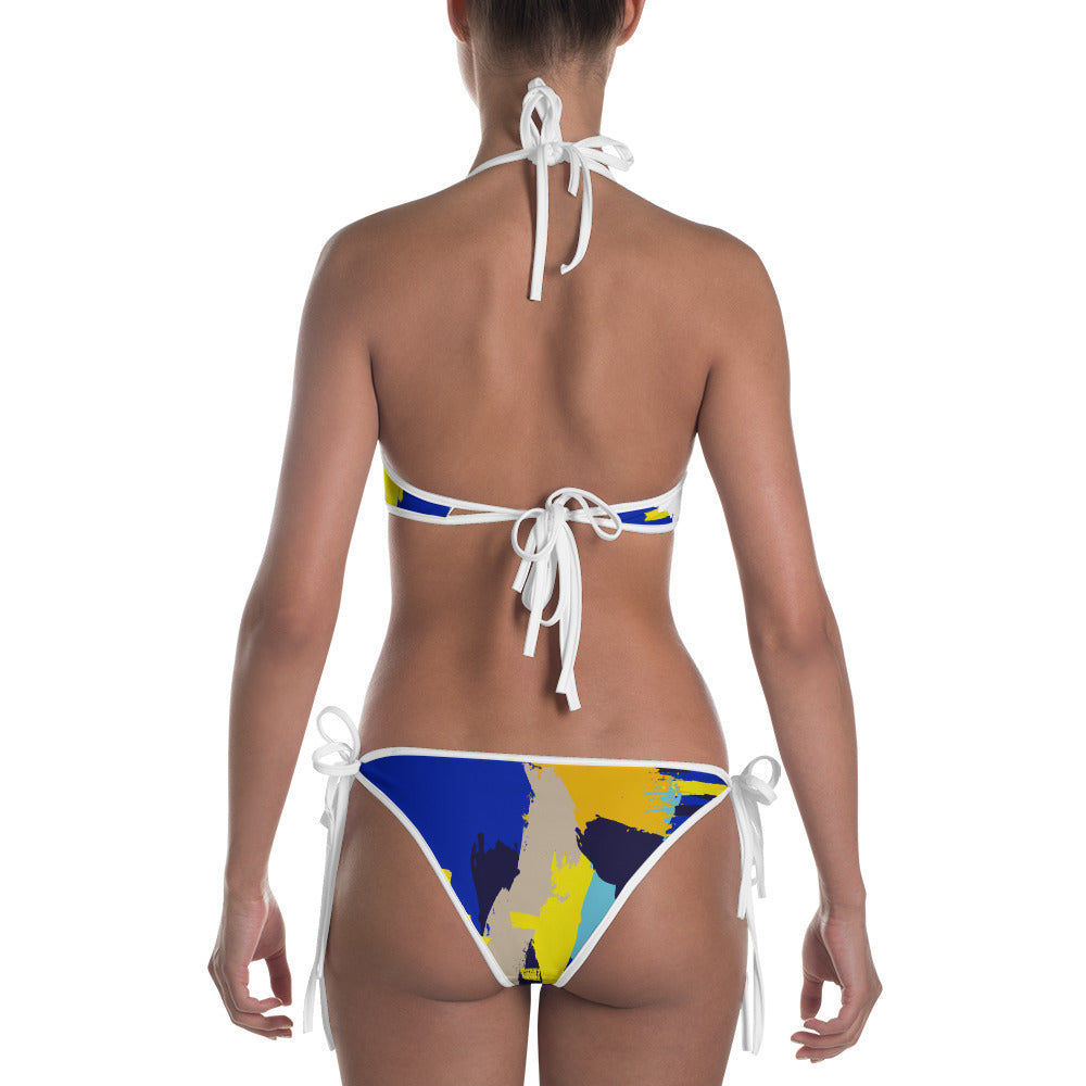 Simple Abstract Bikini