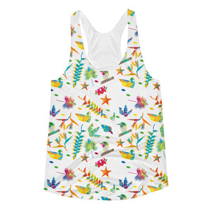 Goddess Calypso Racerback Tank. All over print