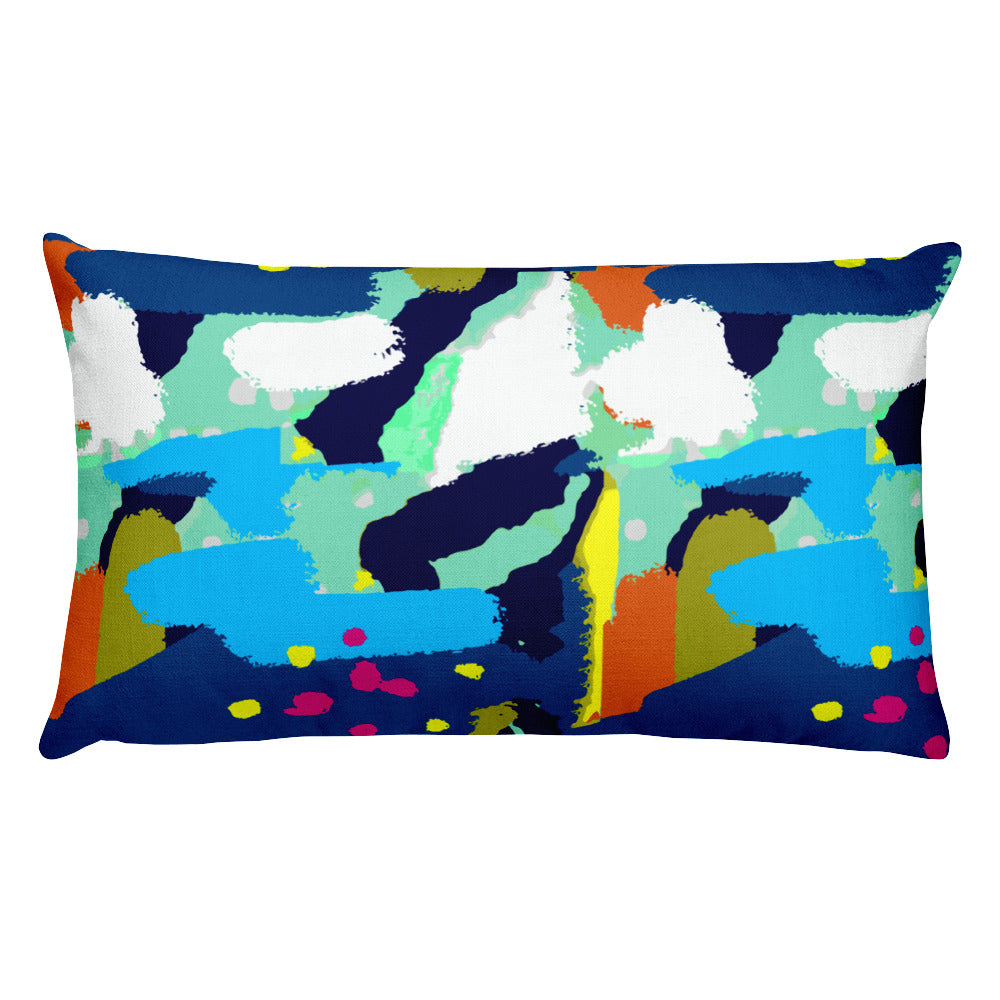 Abstract #19 rectangular Pillow