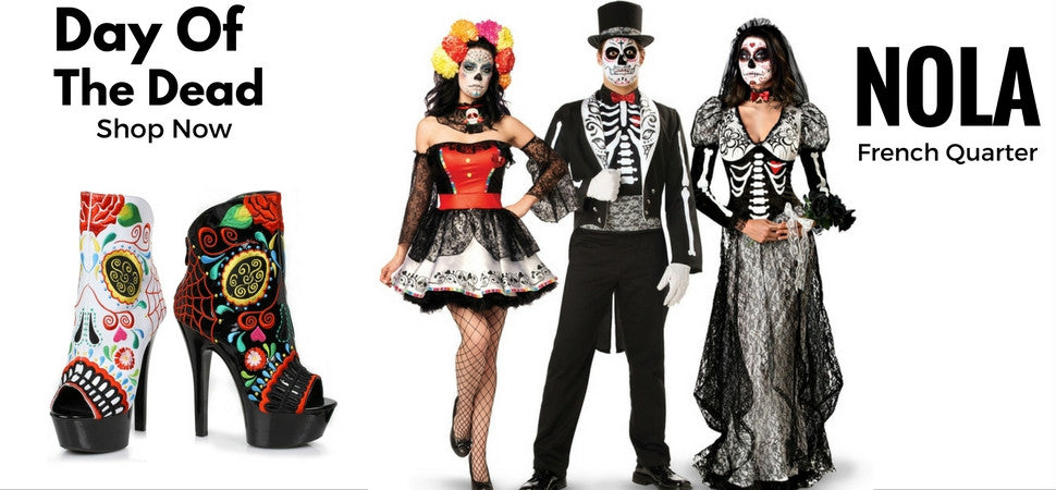 Sugar Skull Day of the Dead Costumes