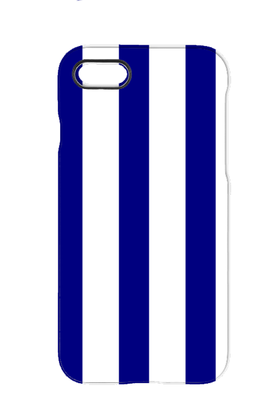 Blue/White iPhone case