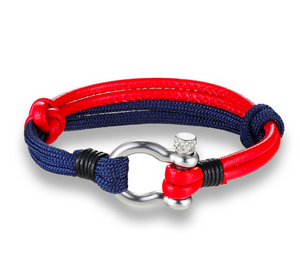 Red/Blue Survival bracelet