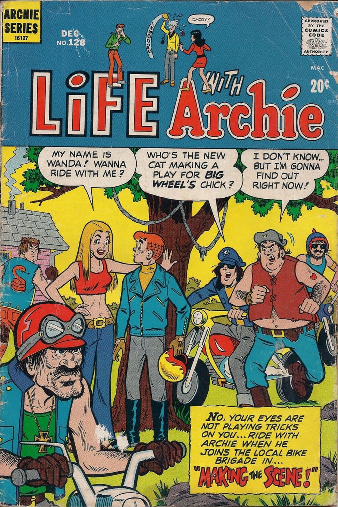 Life With Archie # 128 December 1972 Archie Comics