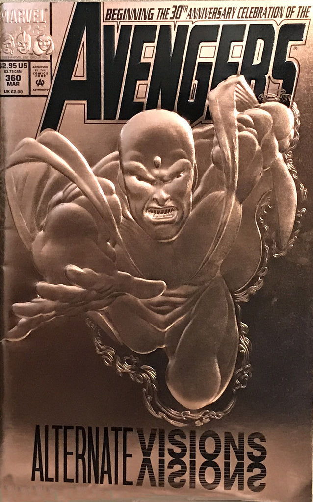 Avengers comic book #360 Marvel foil cover