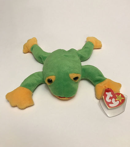 Ty Beanie Babies; Smoochy The Frog - 1997
