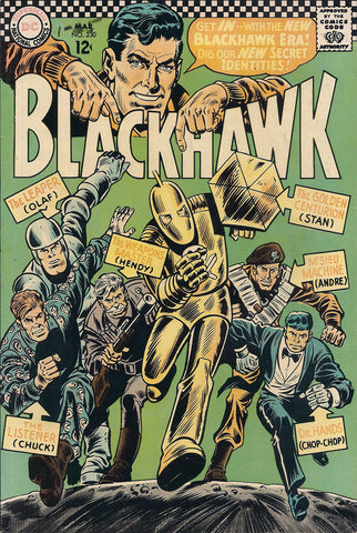 DC Comic Blackhawk #230 - 1967