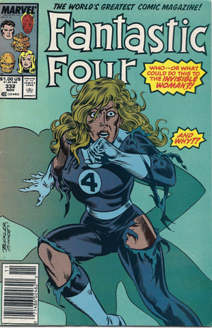 Marvel  Fantastic-Four-No-332-NOV-1989