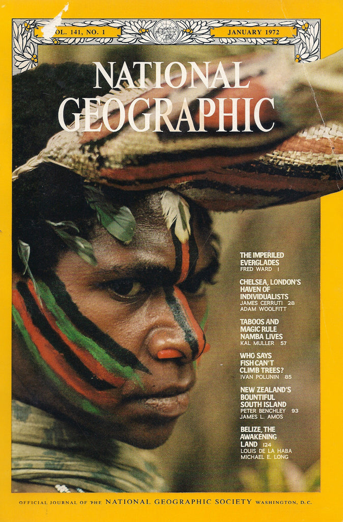 National Geographic magazine January 1972