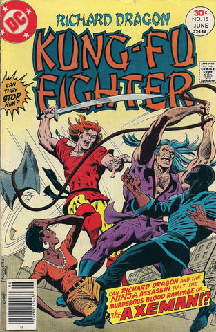 DC Richard Dragon Kung Fu Fighter #15 DC 1977