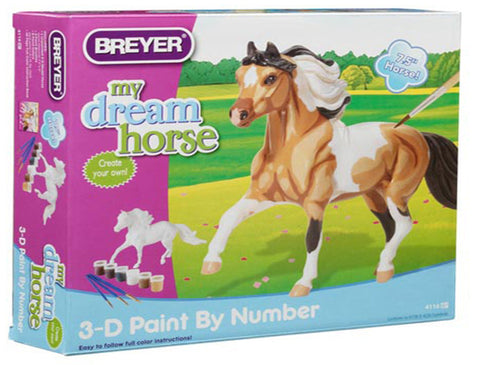 Breyer Model Horse 3-D Paint By Number Kit