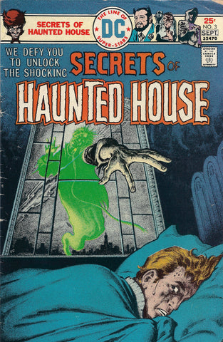 DC Secrets of Haunted House No.3 SEPT 1975
