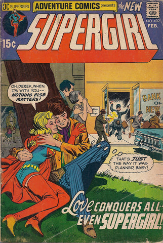 DC ADVENTURE COMICS #402 SUPERGIRL